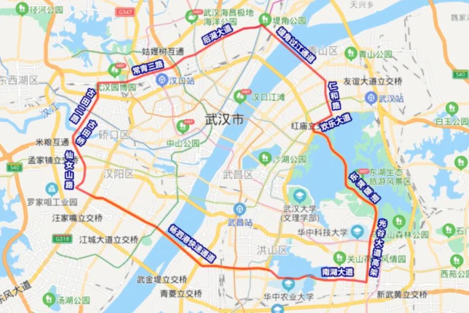 """武汉建设""""新二环"""",缓解道路拥挤现象,当地人:房价会涨?"""