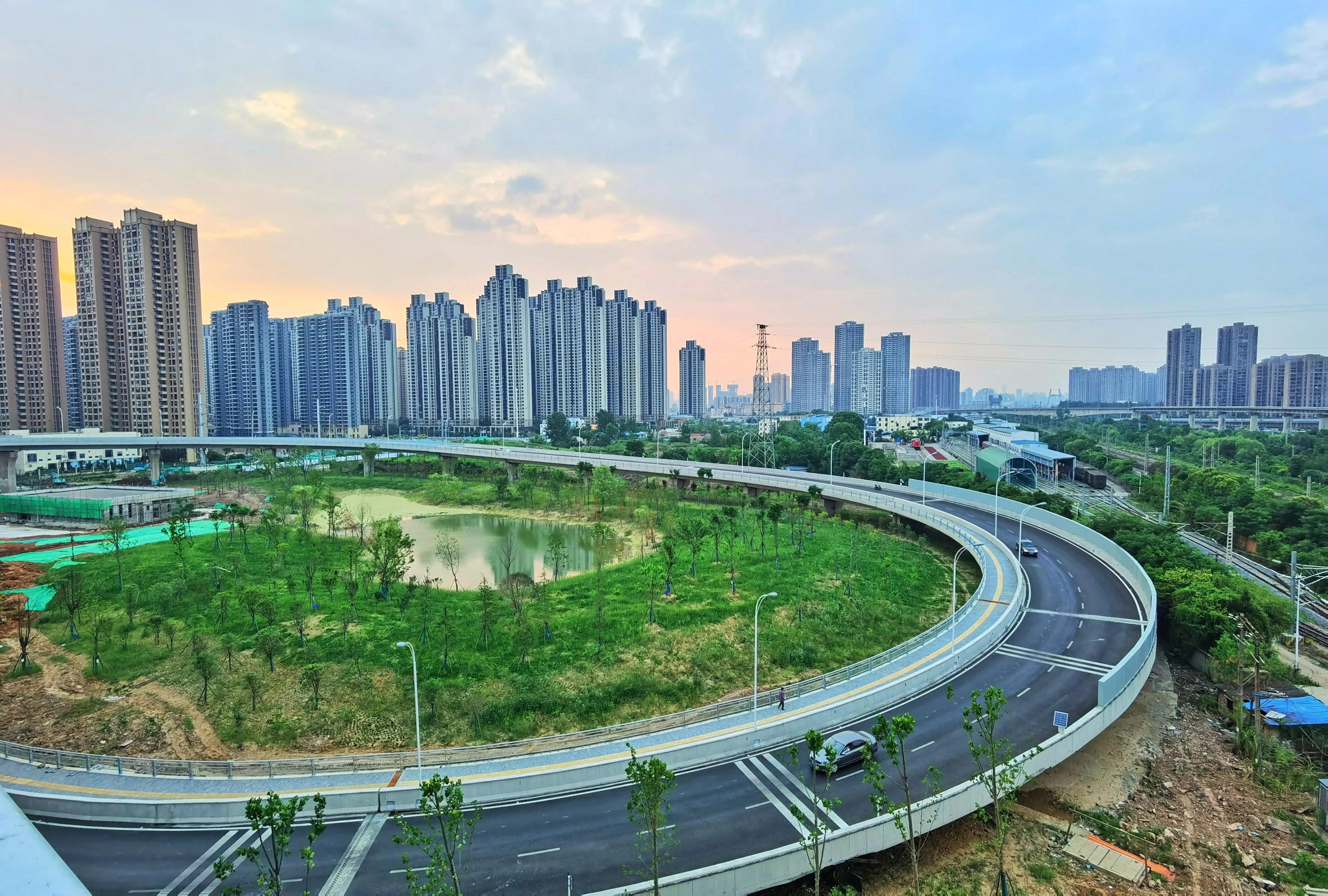 再访武汉白沙洲,变化真大,宜居新城正在慢慢形成